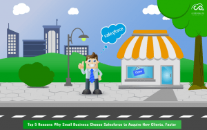 Top 5 Reasons Why Small Business Choose Salesforce to Acquire New Clients, Faster