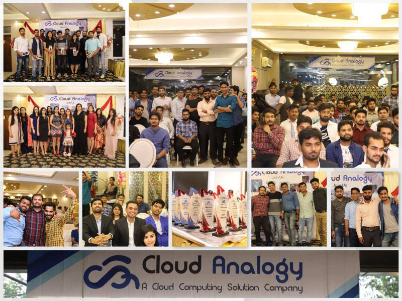 The happiest moments of Cloud Analogy award ceremony event