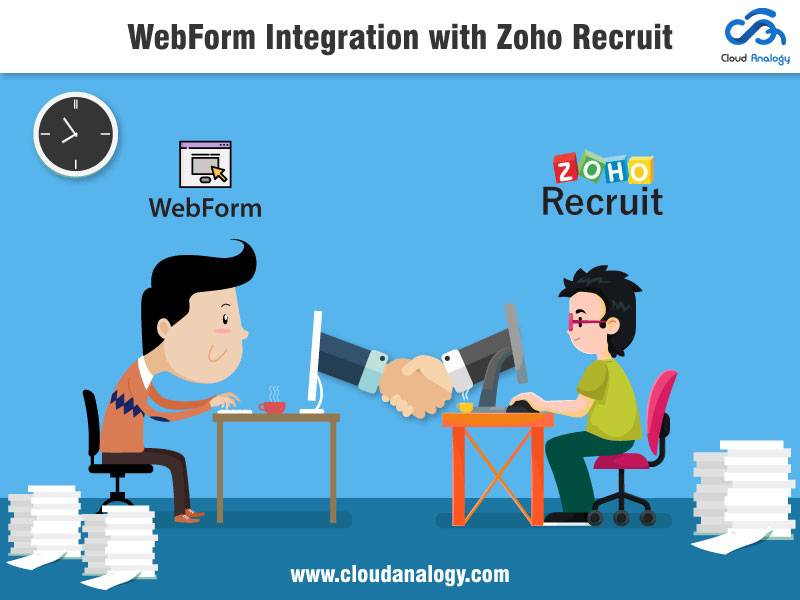 WebForm Integration with Zoho Recruit