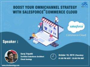 """Upcoming Webinar – """"Commerce Cloud: Introduction and Onboarding"""""""