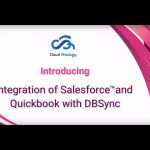 Integration of Salesforce and Quickbook with DBSync