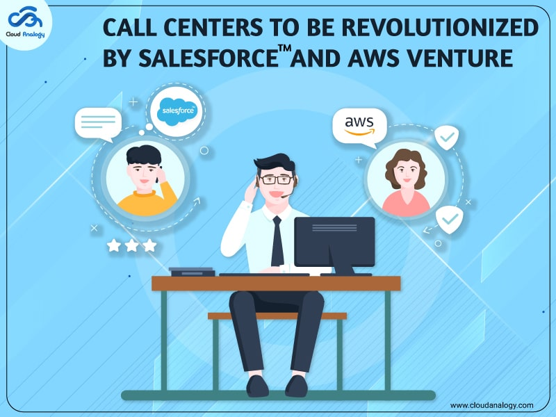 Call Centers To Be Revolutionized By Salesforce And AWS Venture