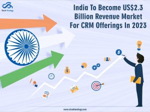 India To Become US$2.3 Billion Revenue Market For CRM Offerings In 2023