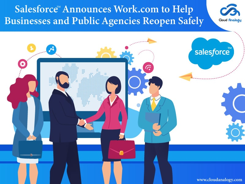 Salesforce Announces Work.com to Help Businesses and Public Agencies Reopen Safely