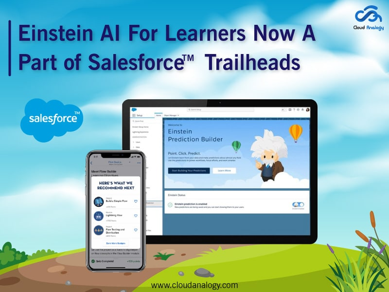 Einstein AI For Learners Now A Part of Salesforce Trailhead