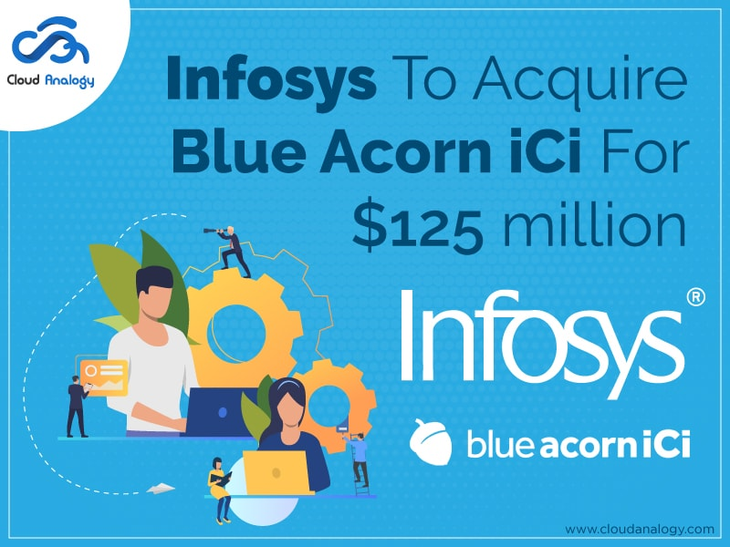 Infosys To Acquire Blue Acorn iCi For $125 million
