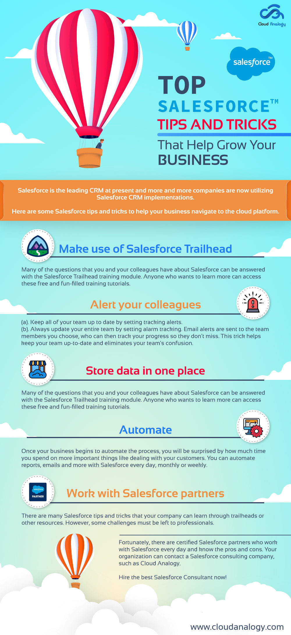 Top Salesforce Tips And Tricks That Help Grow Your Business