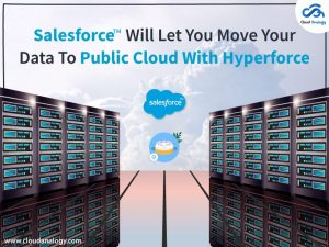 Salesforce Will Let You Move Your Data To Public Cloud With Hyperforce