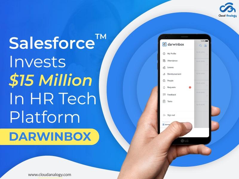 Salesforce Invests $15 Million In HR Tech Platform Darwinbox
