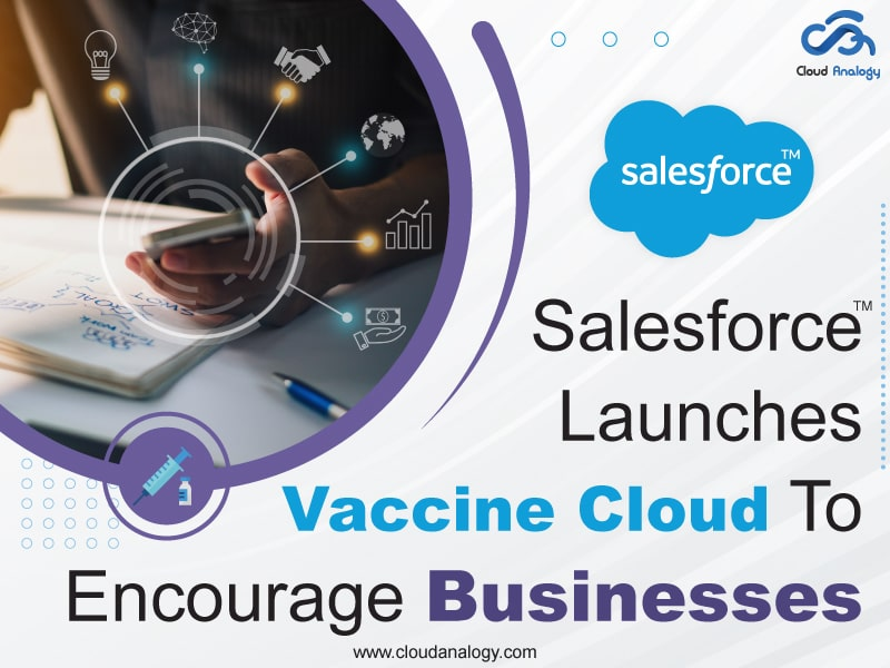 Salesforce Launches Vaccine Cloud To Encourage Businesses