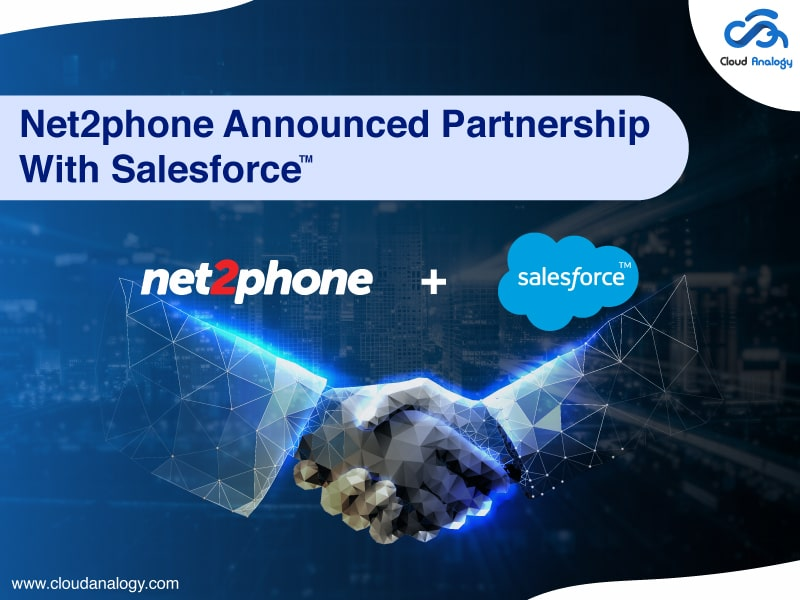 Net2phone Announced Partnership With Salesforce
