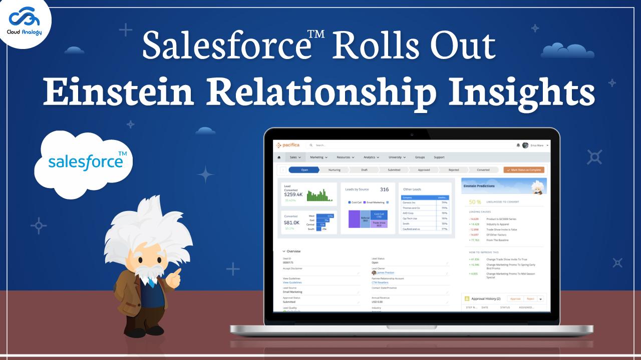 Salesforce Rolls Out Einstein Relationship Insights