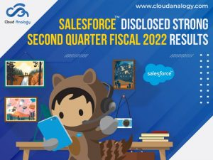 Salesforce Disclosed Strong Second Quarter Fiscal 2022 Results